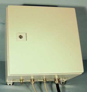 Watertight power supply box PWR 48E or PWR 48NE for weather sensors WST 6000HS or WST 6000NHS
